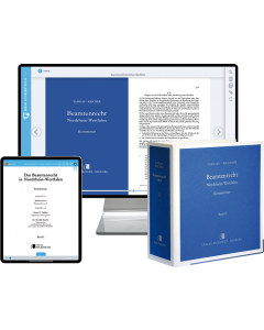 Beamtenrecht Nordrhein-Westfalen – Print + Digital