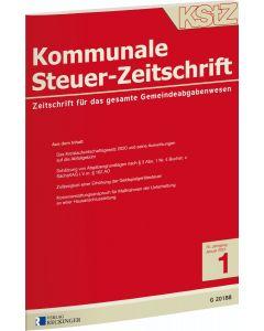 Kommunale Steuer-Zeitschrift