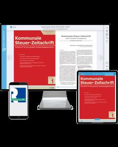 Kommunale Steuer-Zeitschrift – Digital