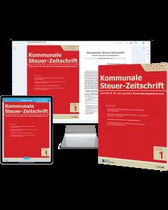 Kommunale Steuer-Zeitschrift – Print + Digital