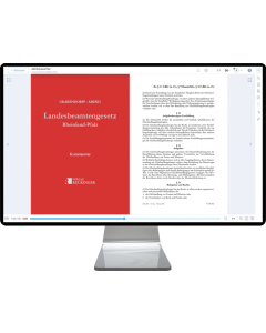 Landesbeamtengesetz Rheinland-Pfalz – Digital