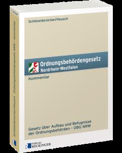 Ordnungsbehördengesetz Nordrhein-Westfalen