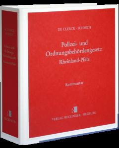 Polizei- und Ordnungsbehördengesetz Rheinland-Pfalz
