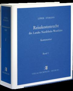 Reisekostenrecht des Landes Nordrhein-Westfalen