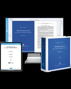 Reisekostenrecht Nordrhein-Westfalen – Print + Digital