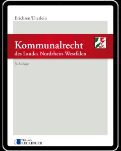 Kommunalrecht des Landes Nordrhein-Westfalen - Digital