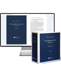 Umzugskostenrecht des Bundes – Print + Digital