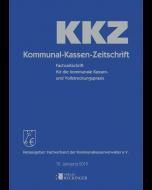 Kommunal-Kassen-Zeitschrift – Einbanddecke