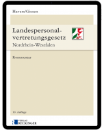 Landespersonalvertretungsgesetz Nordrhein-Westfalen – Digital