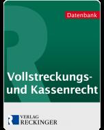 Vollsteckungs- und Kassenrecht – Digital