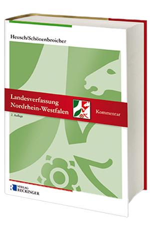 NEU: Landesverfassung Nordrhein-Westfalen