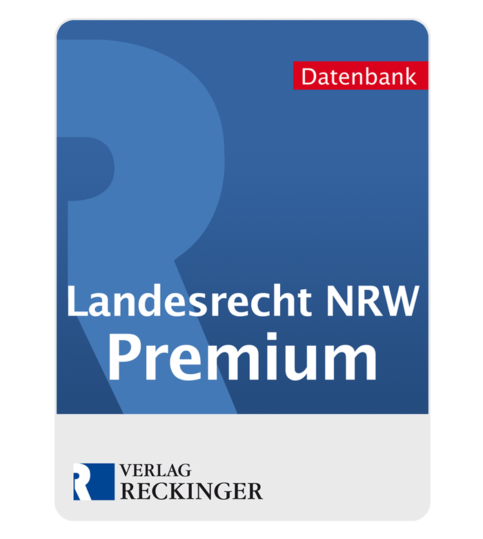 Link: Landesrecht Nordrhein-Westfalen – Premium